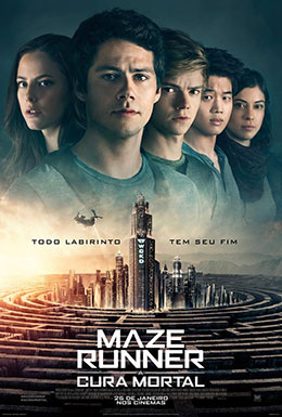 Filme - Maze Runner: A Cura Mortal