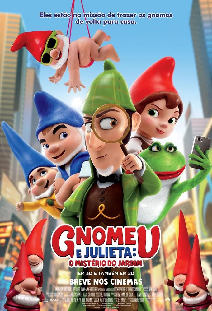 Filme - Gnomeu e Julieta: O Mistério do Jardim