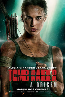 Cartaz - Tomb Raider - A Origem