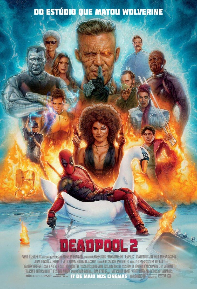 Cartaz - Deadpool 2