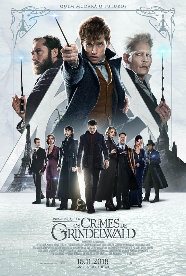 Animais Fantásticos: Os Crimes de Grindelwald ()