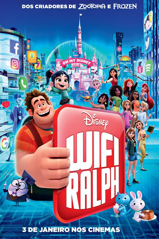 Cartaz - WiFi Ralph: Quebrando a Internet