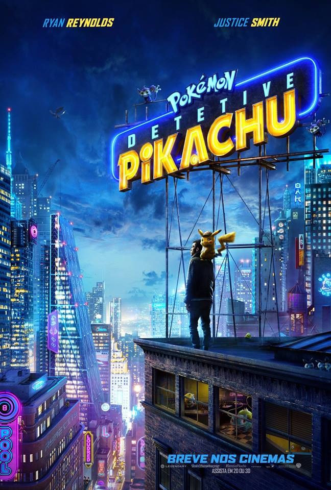 Cartaz - Pokémon: Detetive Pikachu