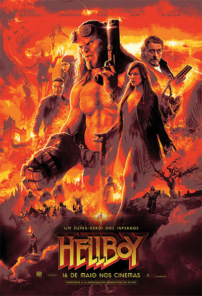 Cartaz - Hellboy