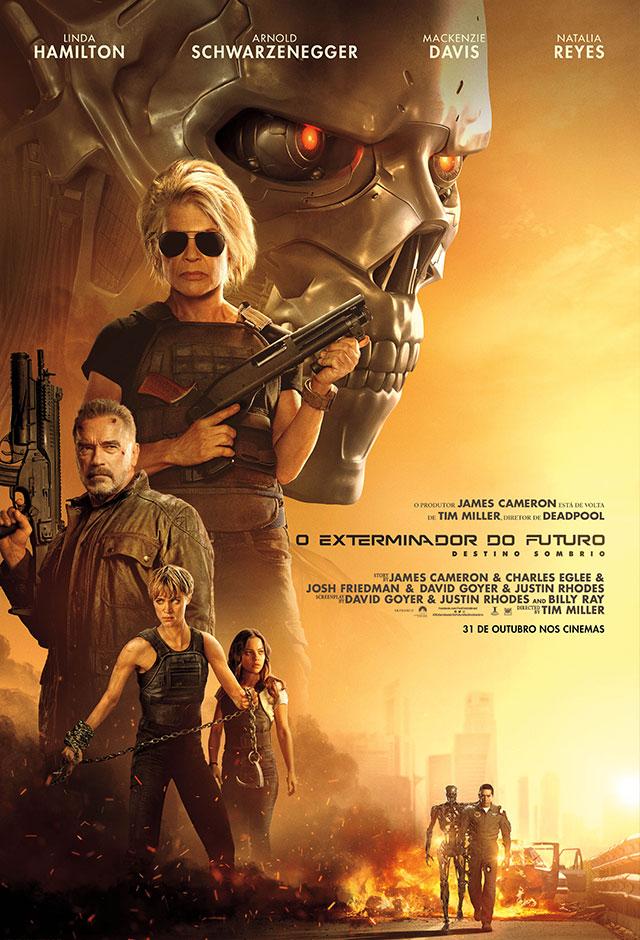 Cartaz - O Exterminador do Futuro: Destino Sombrio